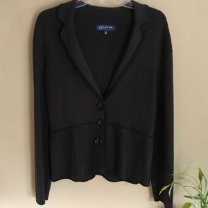 NWT Jones New York Dark Brown Blazer Jacket